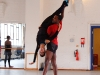 Damien Johnson and Sarah Kundi rehearse the pas de deux