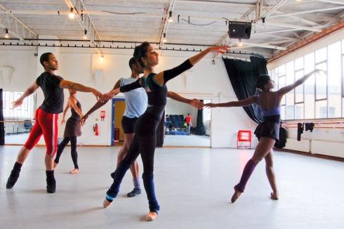 Ballet Black Rehearsal