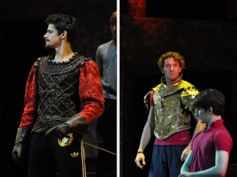 Soares as Tybalt and Avis as Escalus