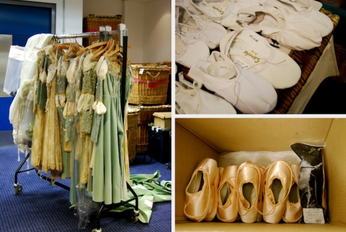 Ballet gear and costumes