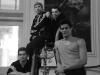 Thiago Soares, Federico Bonelli, David Makhateli and Johan Kobborg