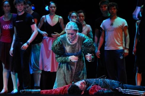 Lady Capulet's meltdown