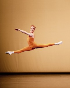 Steven McRae in Kenneth MacMillan's Concerto. Photo: Johan Persson / ROH ©