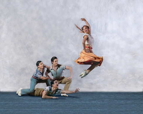 American ballet theatre returns to sadler s wells feb 2011 for Antony tudor jardin aux lilas