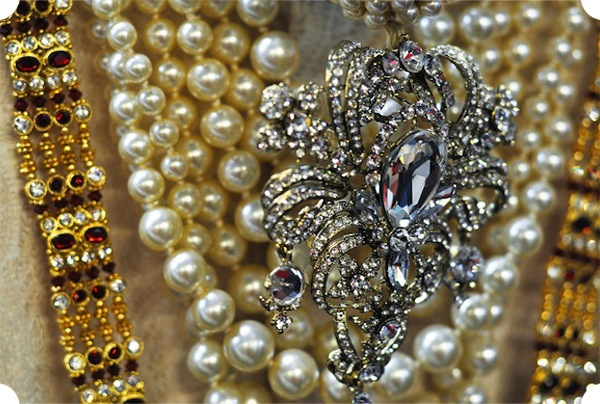 Detail of Rajah's costume