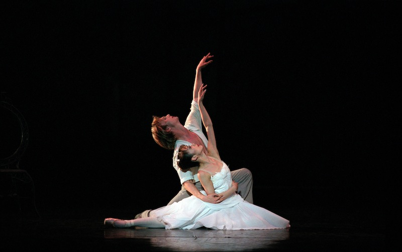 Nao Sakuma and Robert Parker in The Two Pigeons