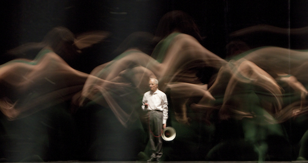 The Man of the Megaphone in Forsythe's Artifact