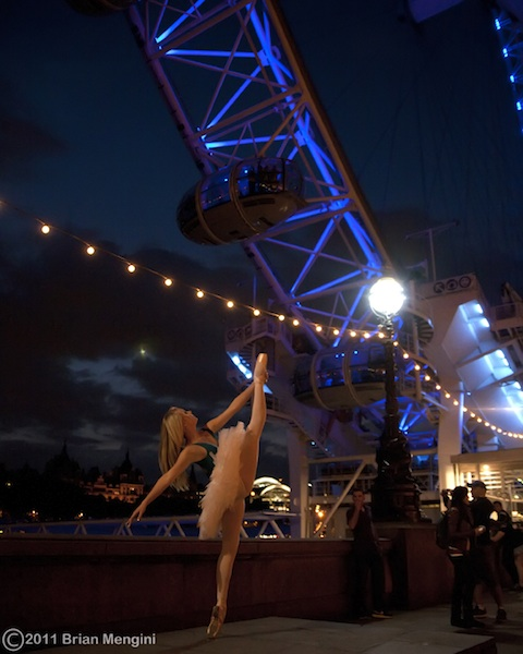 London Eye Ballerina