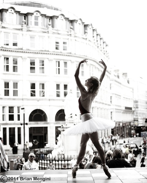 Ballerina in Piccadilly