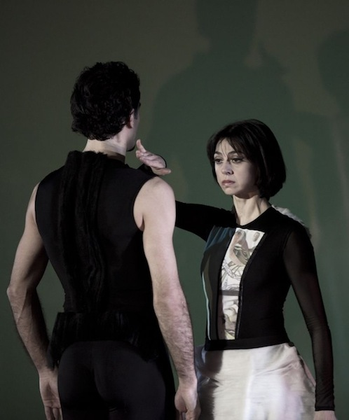 Nina Ananiashvili and Vasil Akhmeteli in Tampopo