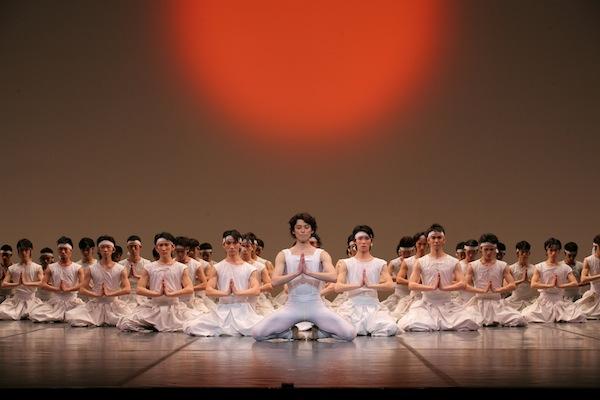 Naoki Takagishi and Artists of The Tokyo Ballet in Béjart's The Kabuki