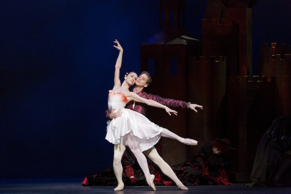 Marianela Nuñez and Nehemiah Kish in Sir Kenneth MacMillan's The Prince of the Pagodas
