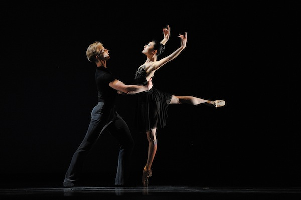 Yuan Yuan Tan and Tiit Helimets in Tomasson's 7 For Eight.