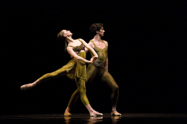 Sarah Van Patten and Pierre-Franois Vilanoba in Wheeldon's Within The Golden Hour