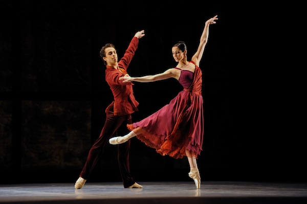 Vanessa Zahorian and Vitor Luiz in Tomasson's Trio