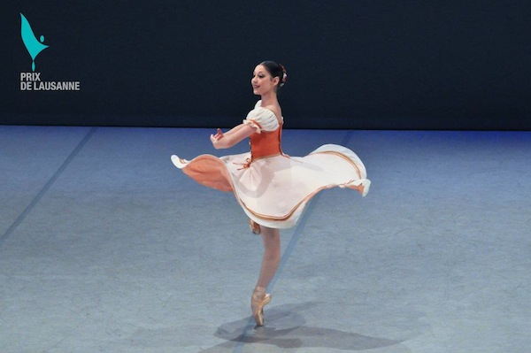 Hannah Bettes at Prix 2012 finals