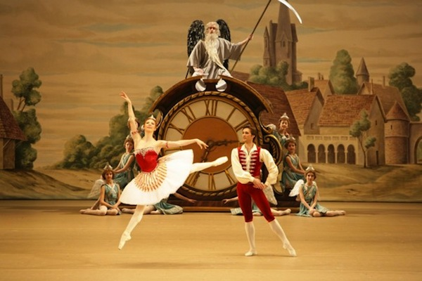 Alexandrova and Skvortsov in Coppélia