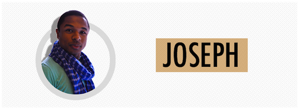 Joseph's bag