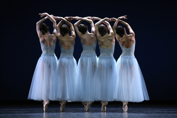 Boston Ballet in Balanchine's Serenade