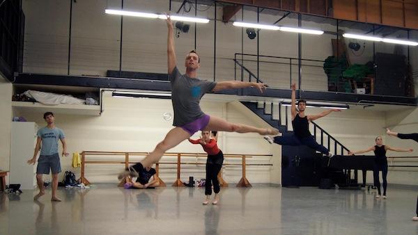 Melissa Barak Company in rehearsal - Photo: © Wiebke Schuster
