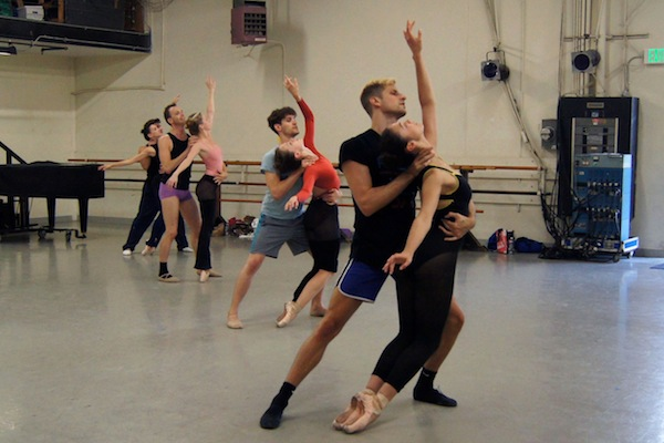 Melissa Barak Company in rehearsal