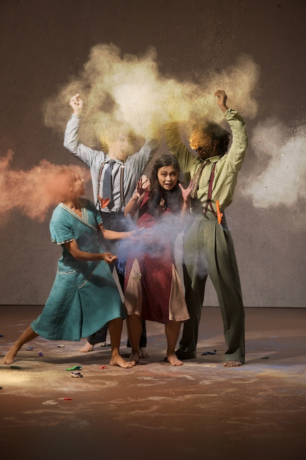 Rambert Dance Company in Barak Marshall's The Castaways