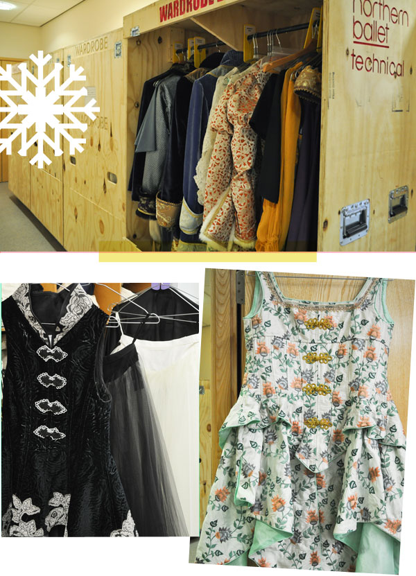 Wardrobe and costumes