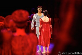 Rojo and Acosta in Romeo and Juliet