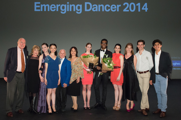 Finalists and Judges of ENB's Emerging Dancer Competition 2014 - Photo: © ASH
