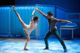 Thomas Whitehead and Olivia Cowley in Cassandra