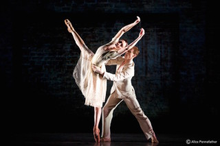 Christina Arestis and Edward Watson in Ceremony of Innocence