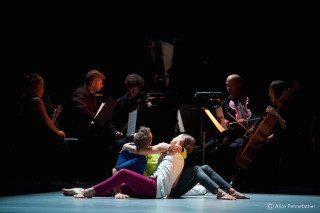 Alexander Whitley, Jessica Andrenacci and Antonette Dayrit in Alex Whitley's The Grit in the Oyster