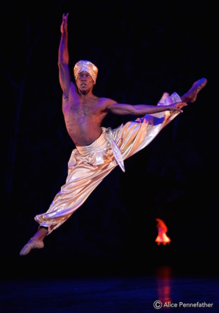 Shevelle Dynott in the Arabian Dance