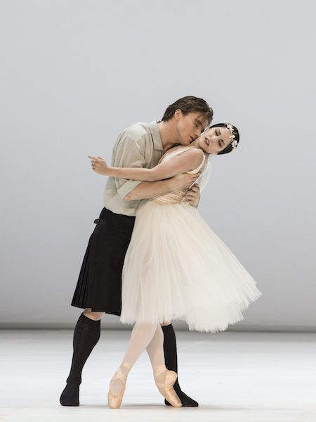 Alban Lendorf as James, Alexandra Lo Sardo as the Sylph