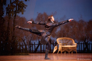 Matthew Golding as Onegin