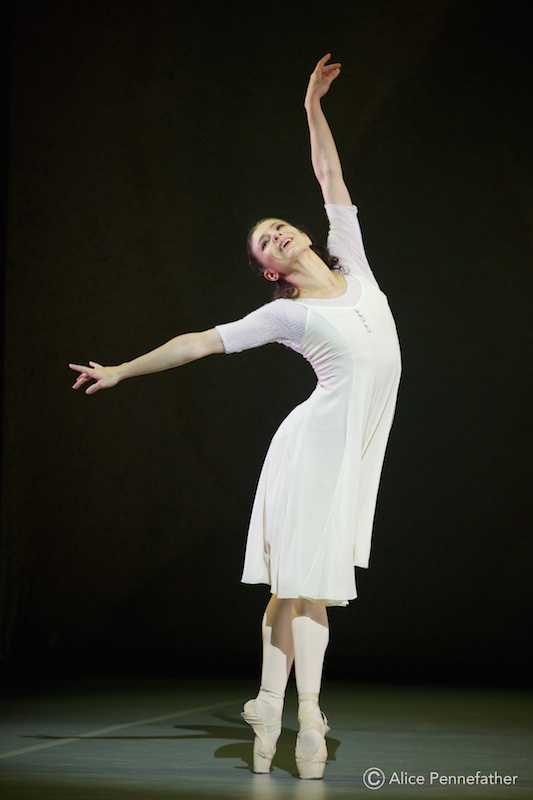 Alina Cojocaru in John Neumeier's Spring and Fall.