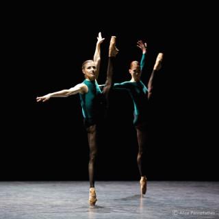 Alina Cojocaru and Alison McWhinney
