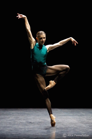 Alina Cojocaru in Forsythe's In the Middle Somewhat Elevated
