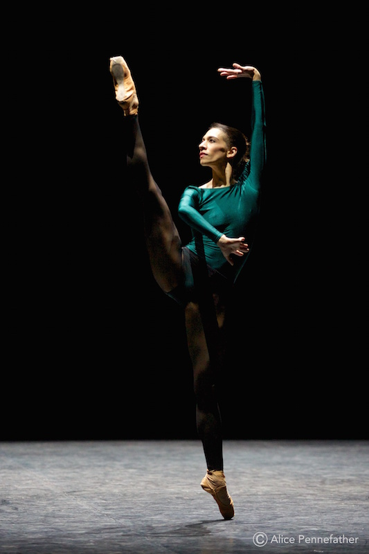 Begoña Cao in Forsythe's In the Middle Somewhat Elevated.