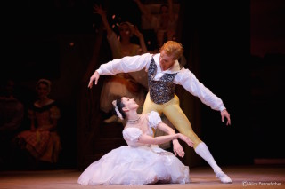 Natalia Osipova and Steven McRae in La Fille Mal Gardée