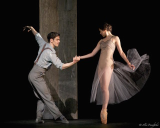 Beatriz Stix-Brunell and Federico Bonelli in I Now, I Then