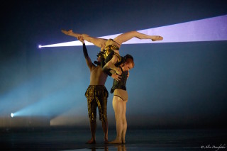 Steven McRae, Eric Underwood and Paul Kay in Becomings