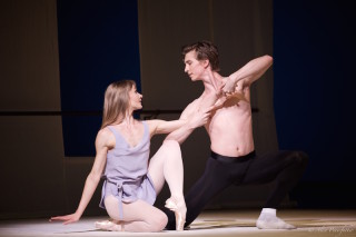 Melissa Hamilton and Vadim Muntagirov in Afternoon of a Faun