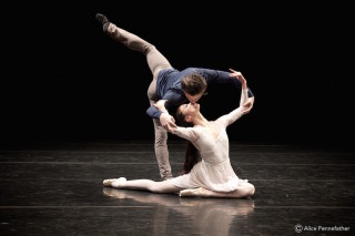 Tristan Dyer and Fumi Kaneko in Valentino Zucchetti's Elegie du Souvenir