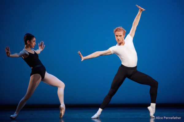 Steven McRae and Artists of The Royal Ballet in Balanchine's The Four Temperaments.