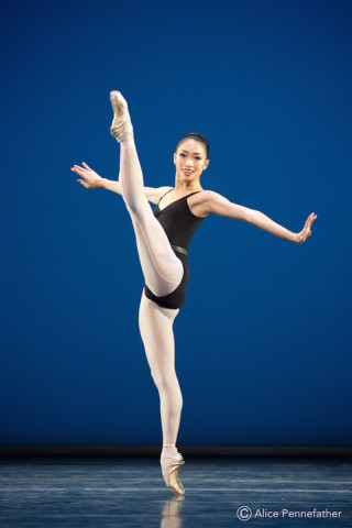 Akane Takada in Balanchine's The Four Temperaments.