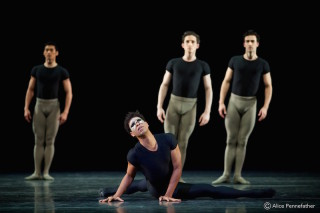 Carlos Acosta as the Messenger of Death and Artists of the Royal Ballet in A Song of the Earth
