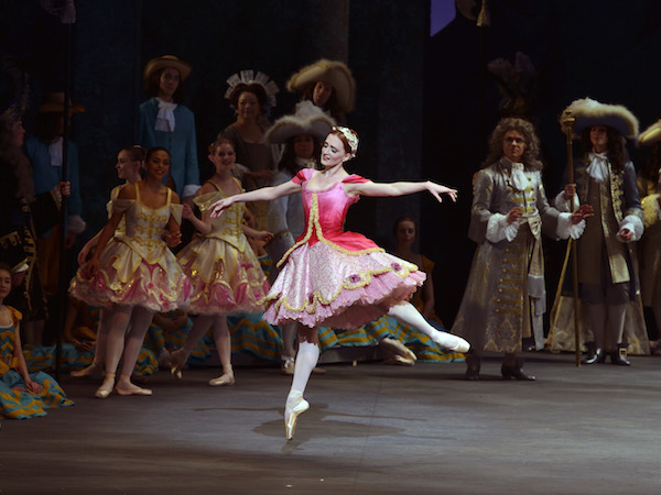 Gillian Murphy as Princess Aurora in The Sleeping Beauty. Photo: © Gene Schiavone.