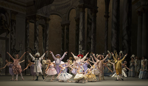 Scene from The Sleeping Beauty. Photo: © Gene Schiavone.