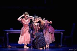 Artists of Dutch National Ballet in Cinderella